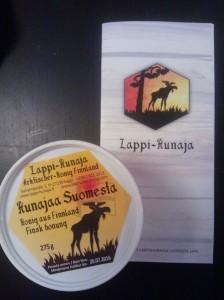 Utuinen kuva Lappi-hunajasta. Ei siitä ensimmäisenä Lappi eteläisestä Suomesta tule mieleen.