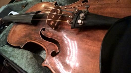 Ei olekaan viulu vaiennut.