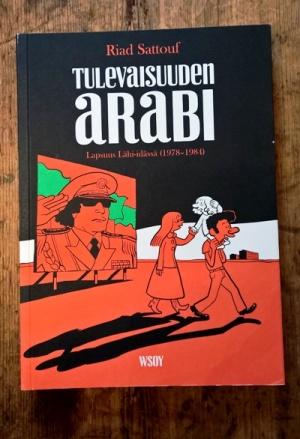 Tulevaisuuden arabin etukansi.