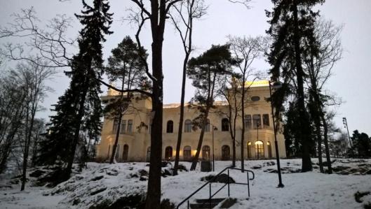 Näsilinna Tampereella.