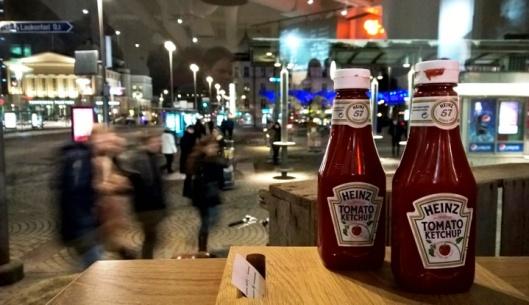Hyvässä ravintolassa on Heinzia pöydässä, sanoi oululainen kulinaristiystävä kerran.