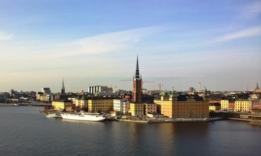 Kaunis, upea Tukholma sellaisena kuin sen muistan ja ajattelen.