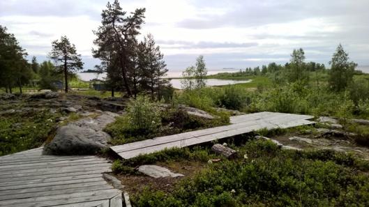 Oulun ja Kemin välillä on ihastuttava paikka nimeltä Merihelmi. Geokätköilijä löytänee täältä kätkön, nälkäinen ruokaa ja ajotauon etsijä ihania pitkospuita pitkin etenevän rauhallisen pikkukävelyn mahtavissa maisemissa.