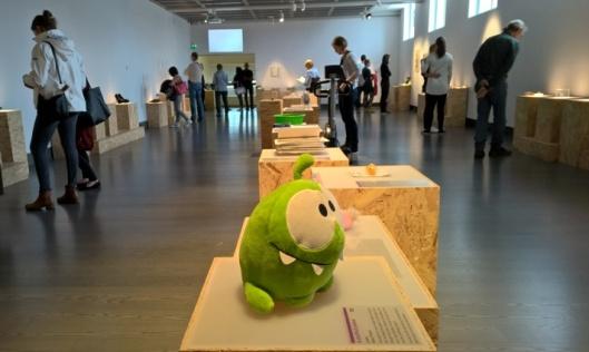 Perjantaina puolilta päivin museossa oli näinkin paljon väkeä, minusta se on aika hieno saavutus museolta.