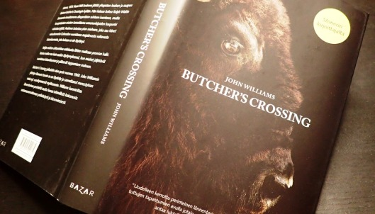 Butcher's Crossingin etukansi.